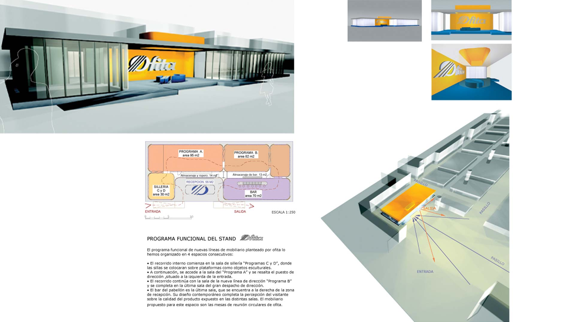 Competition stand for Ofita
